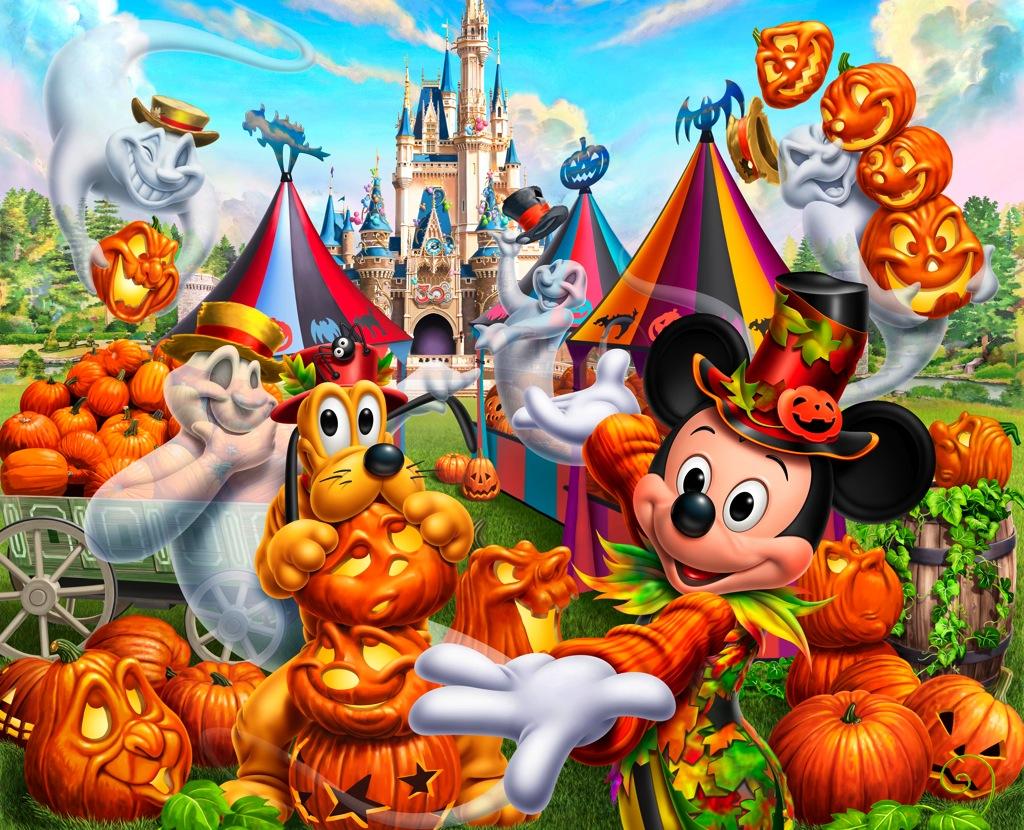 ディズニー・ハロウィーン「find the pumpkins!~パンプキンはどこだ