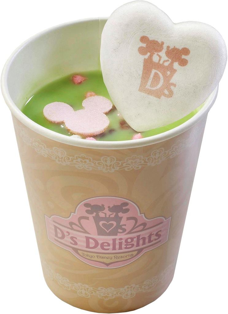 もなか抹茶ラテ(あずき) (c)Disney