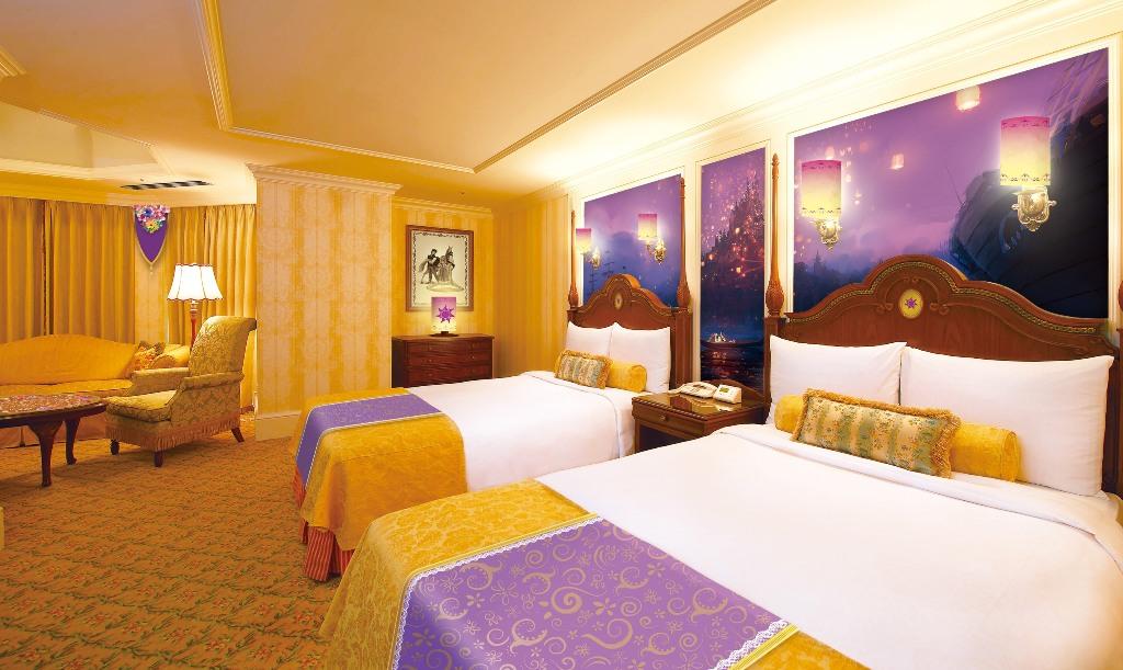 塔の上のラプンツェル をテーマにした客室 イメージ画像 (c)Disney