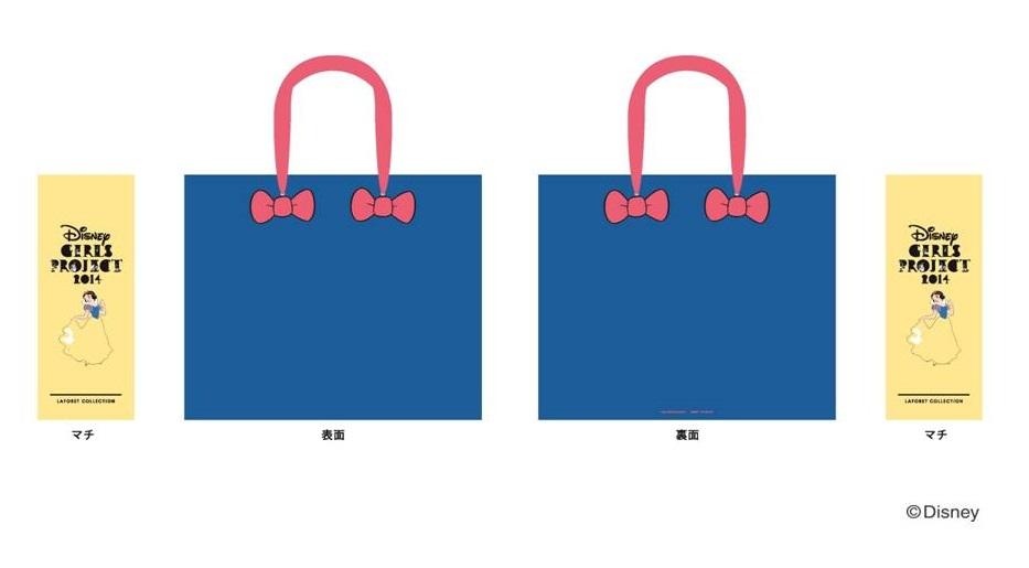 ショッピングバッグ 白雪姫 (c)Disney