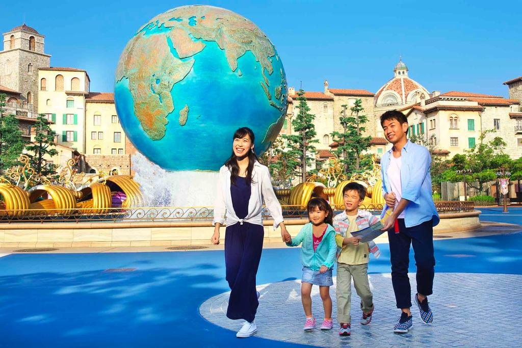 ハッピー15エントリーで入園している様子 イメージ (c)Disney