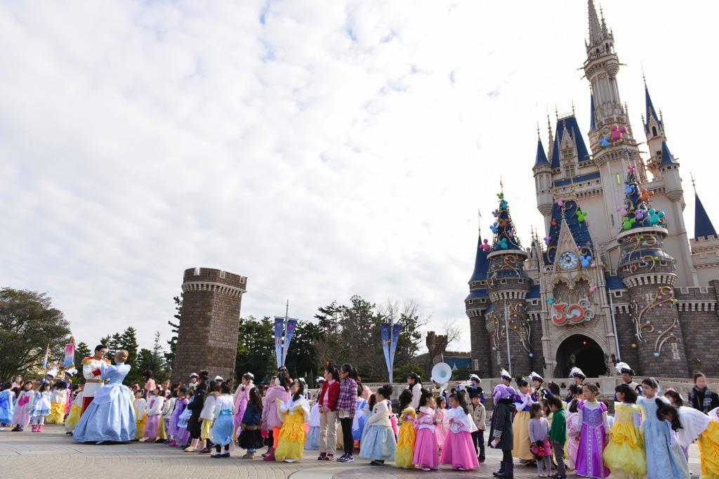 リトルプリンセス・プロセッション (c)Disney