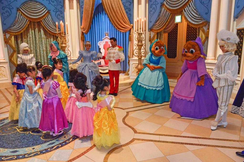 シンデレラのプリンセス・ウェルカム (c)Disney