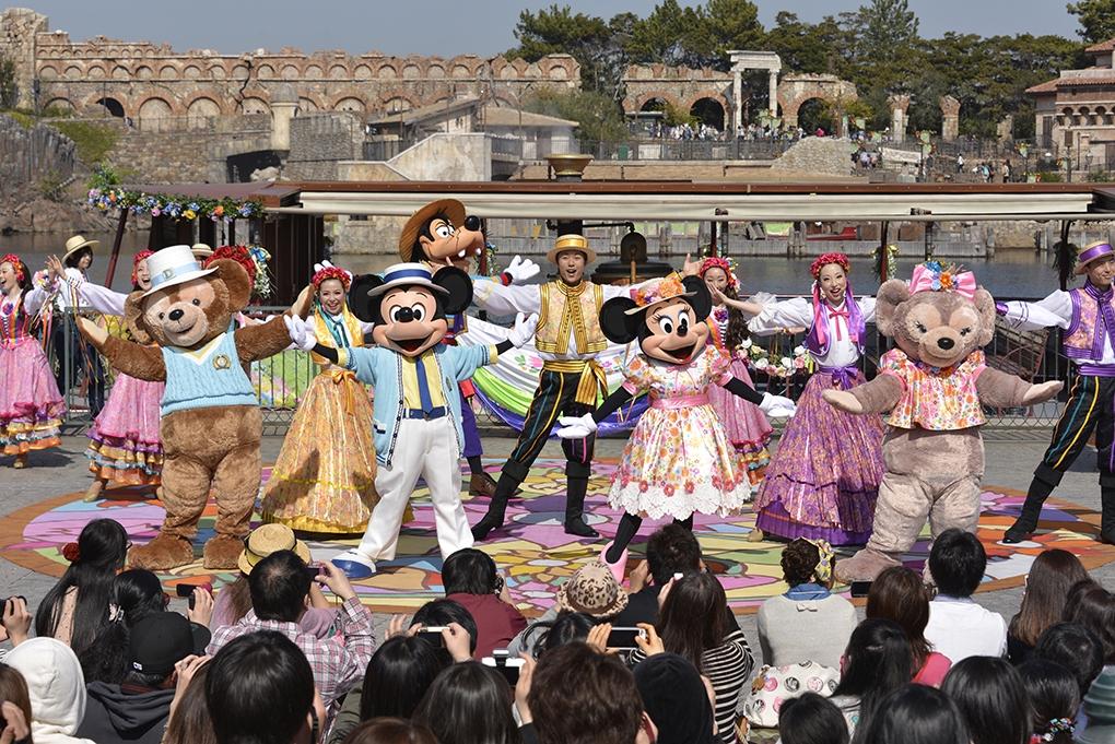 ミッキーとダッフィーのスプリングヴォヤッジ(イメージ) (c)Disney