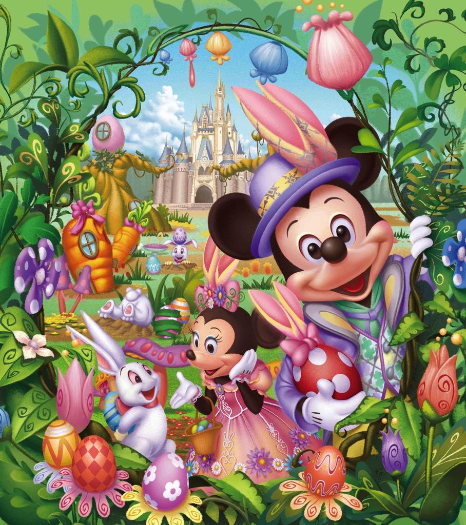 ディズニー イースター (c)Disney