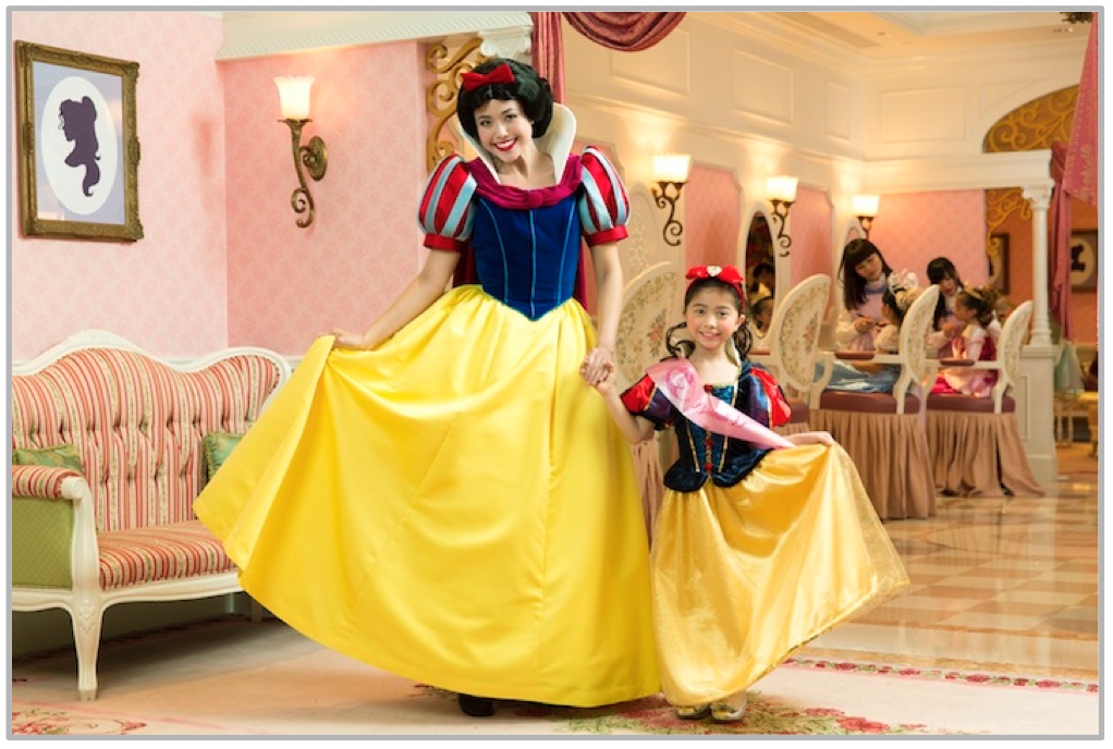 プリンセス・メイクオーバー・パーティー/ディナー (c)Disney