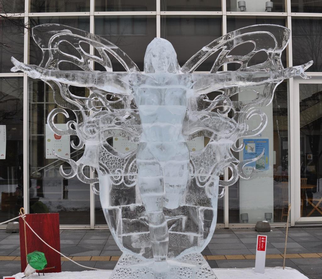 受賞作 MASUKU 仮面の妖精 裏面