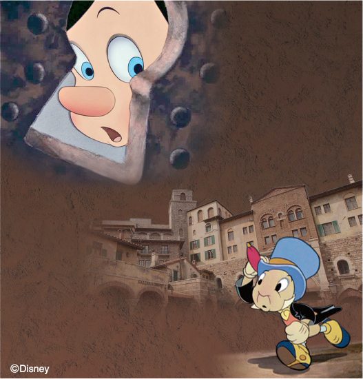 とらわれたピノキオを救い出せ! (c)Disney