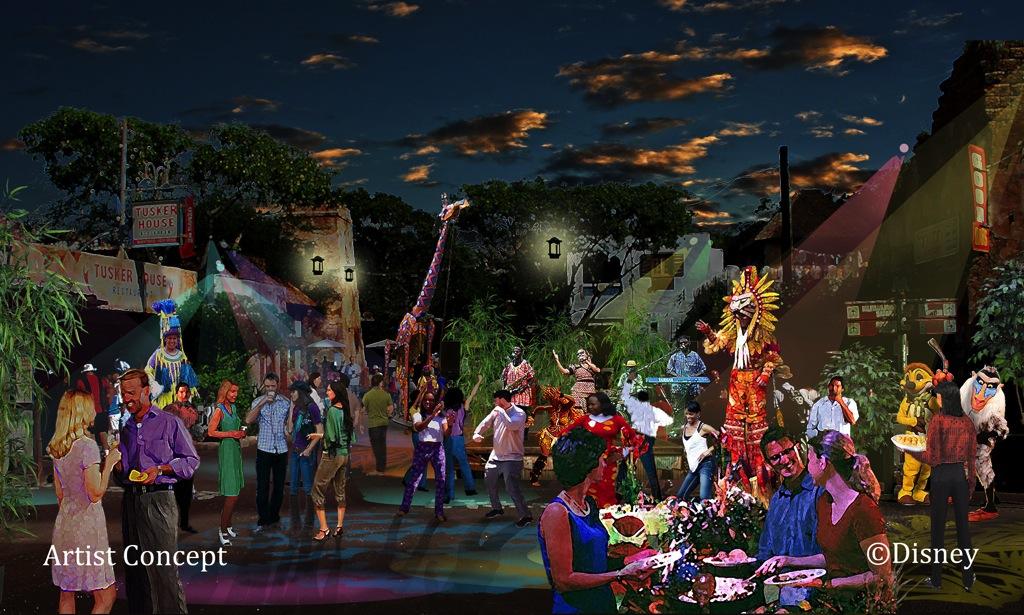 Harambe Village Street Party (c)Disney