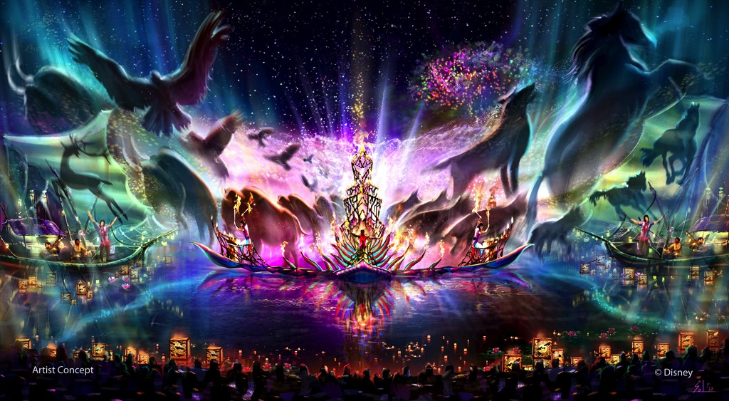 Rivers Of Light Concept (c)Disney