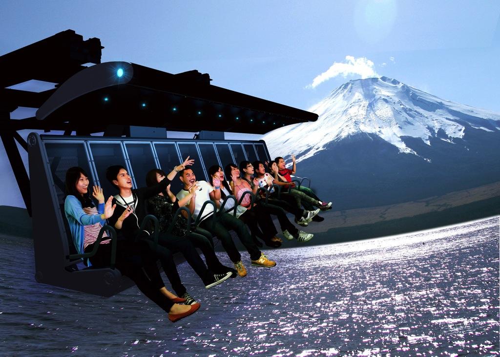 五感で世界遺産・富士山を体感!「富士飛行社」、富士急ハイランドに7月登場