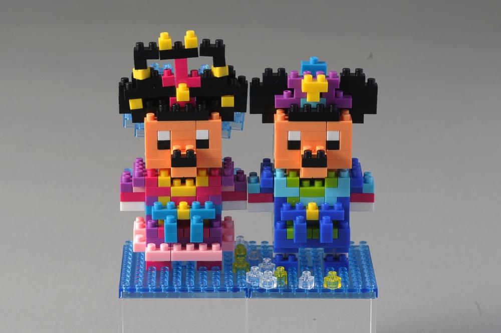 ナノブロック 各1500円 (c)Disney