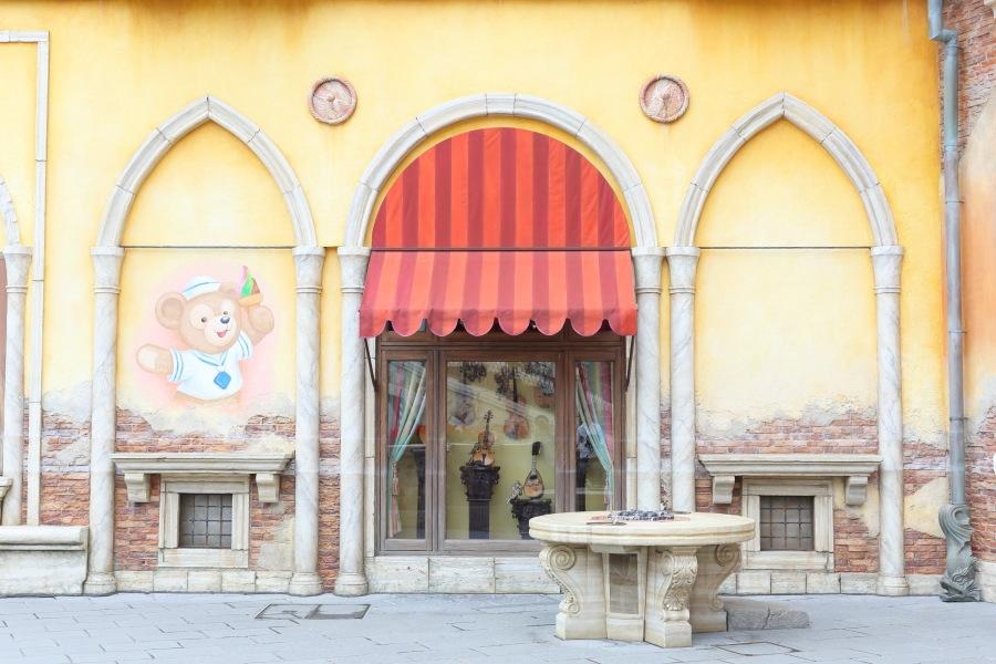 ダッフィー壁画 (c)Disney