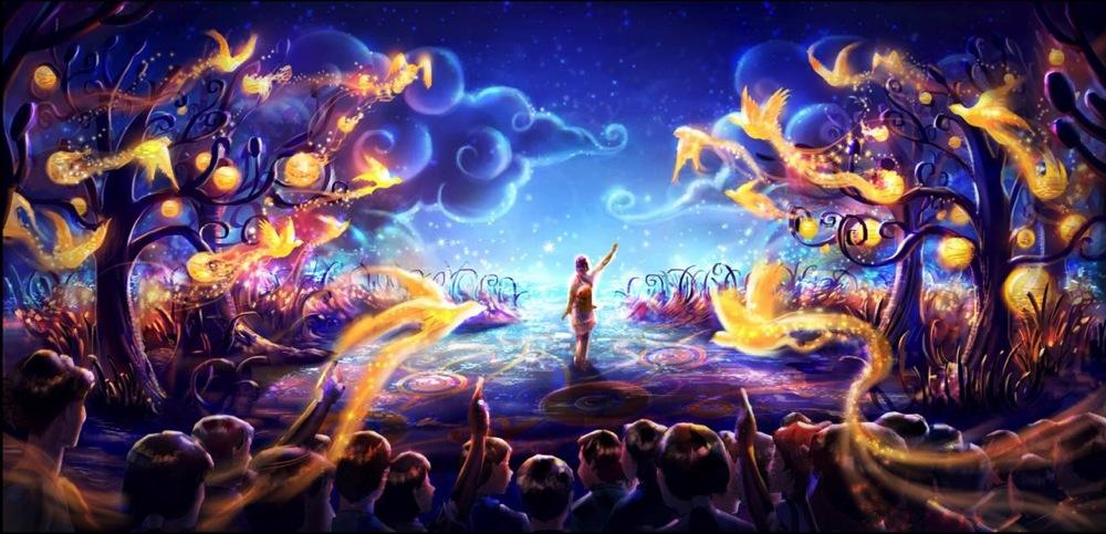 ハンガーステージリニューアル イメージビジュアル (c)Disney
