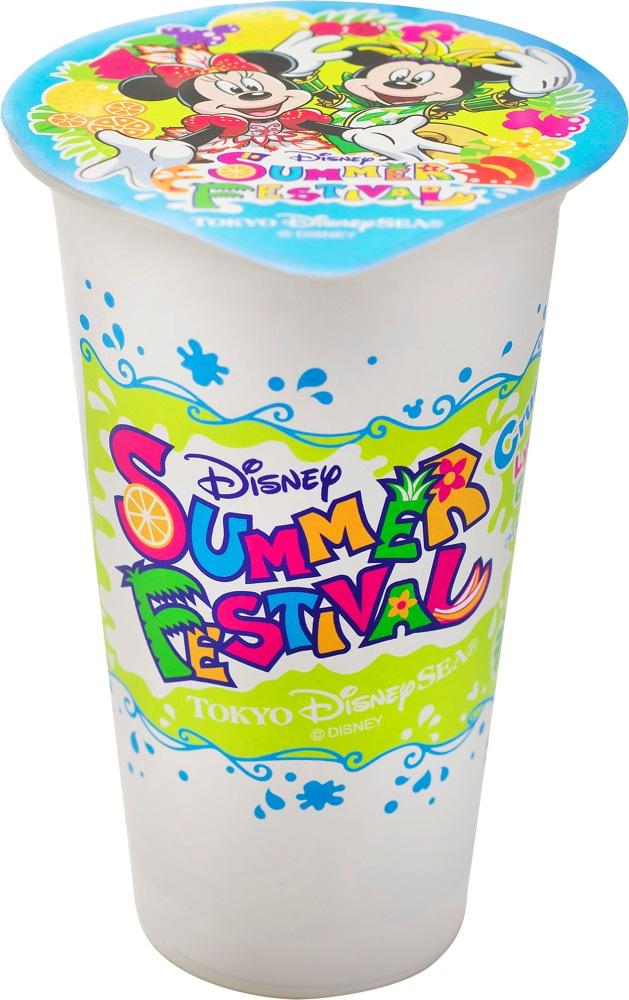 クラッシュアイス(ライチー&グレープフルーツ) 310円 (c)Disney