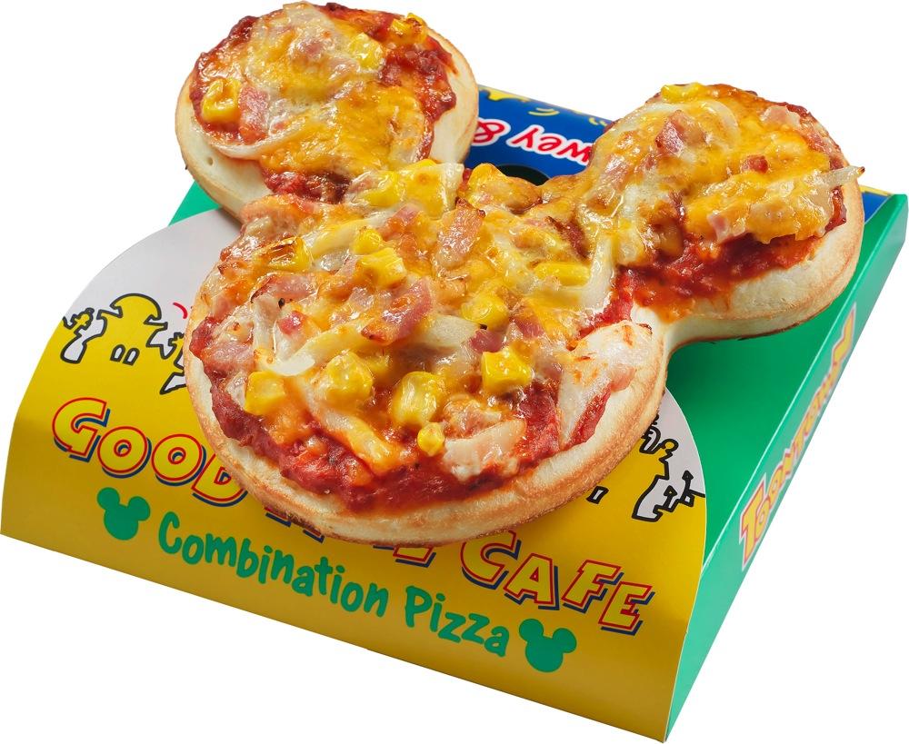 ミッキーピザ 500円 (c)Disney