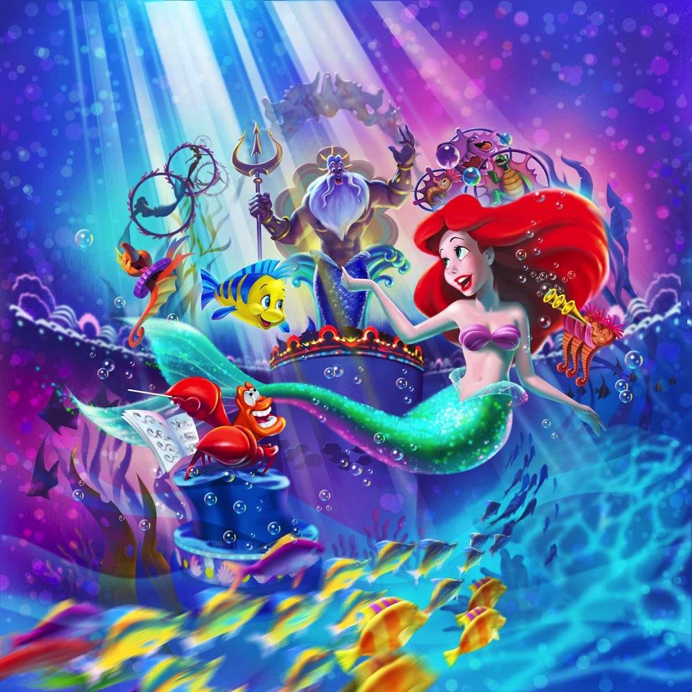新ミュージカルショー キング トリトンのコンサート イメージ画像 (c)Disney