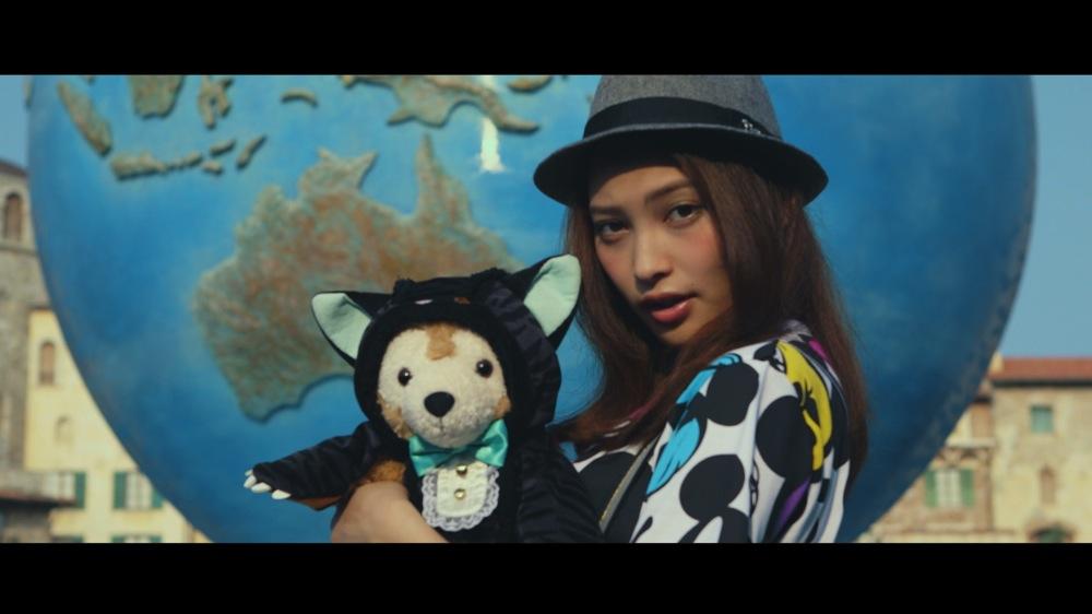 大政絢さんのYoutube特別動画 (c)Disney