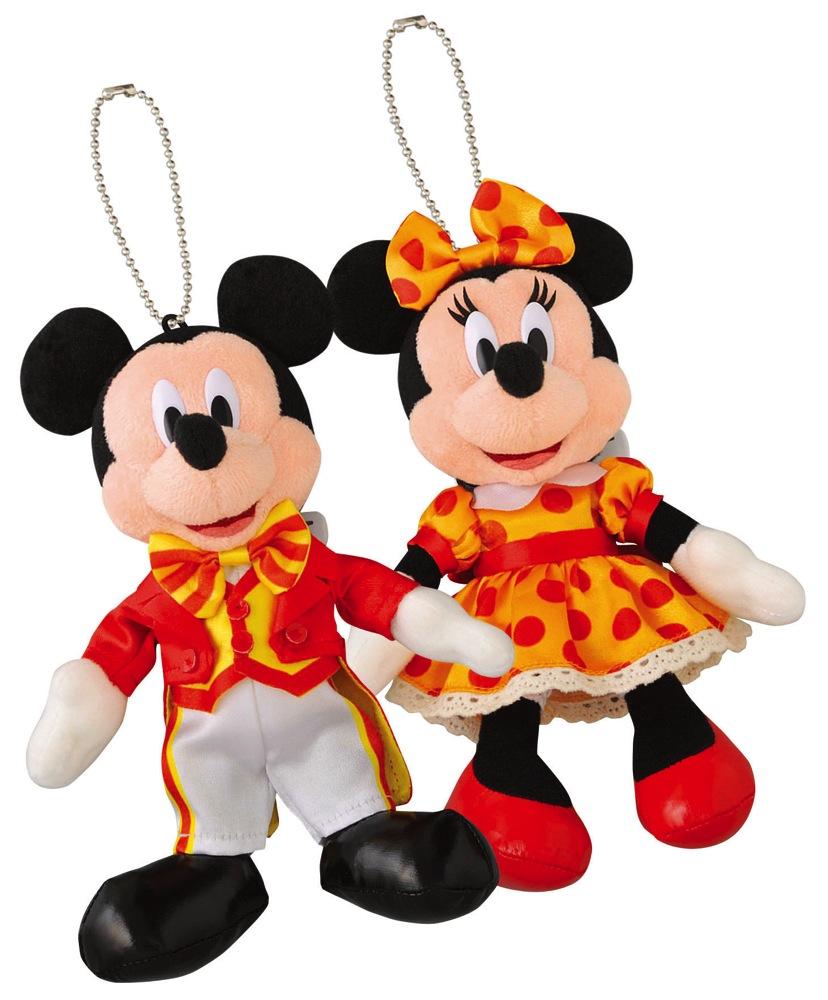 ぬいぐるみバッジ(イメージ) (c)Disney