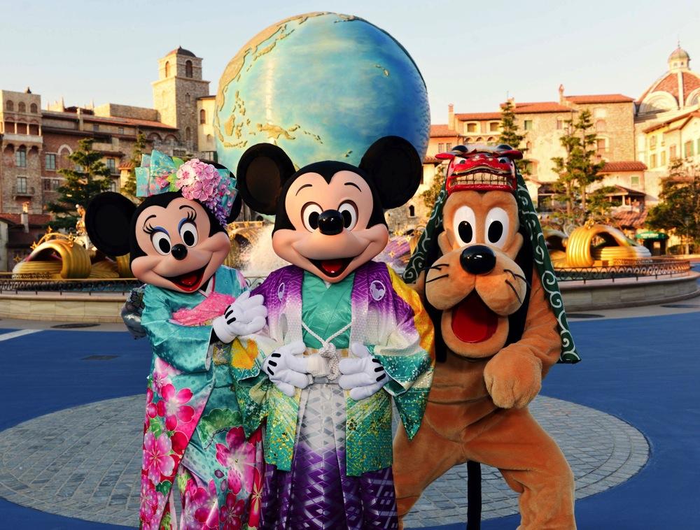 東京ディズニーリゾートのお正月 (c)Disney
