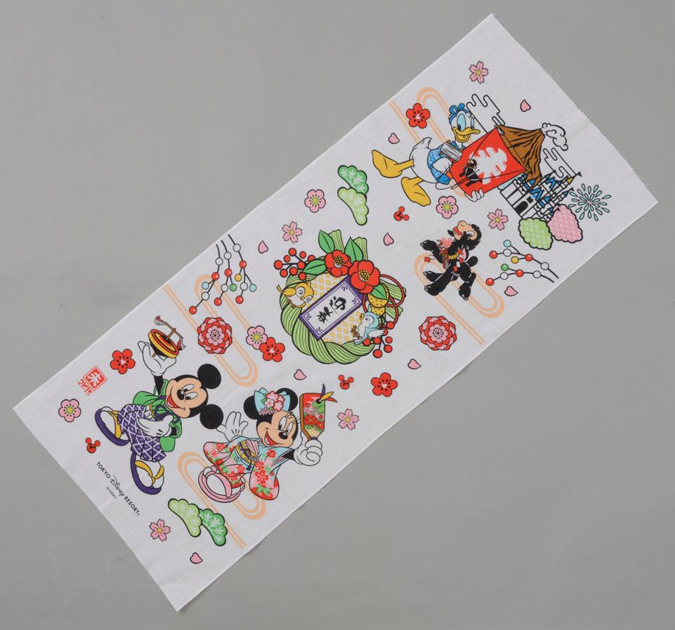 手ぬぐい 1000円 (c)Disney