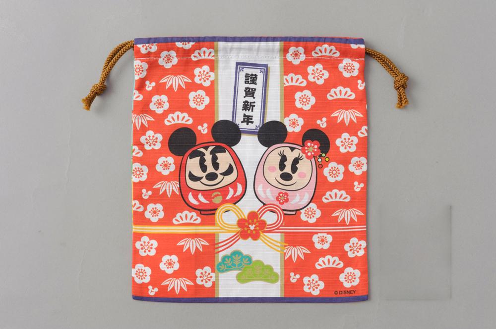 きんちゃく(裏) 700円 (c)Disney