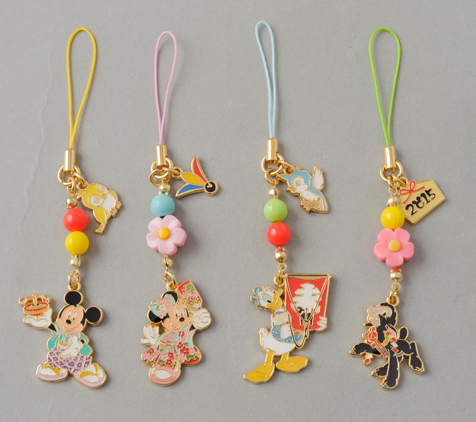 ストラップセット 2000円 (c)Disney