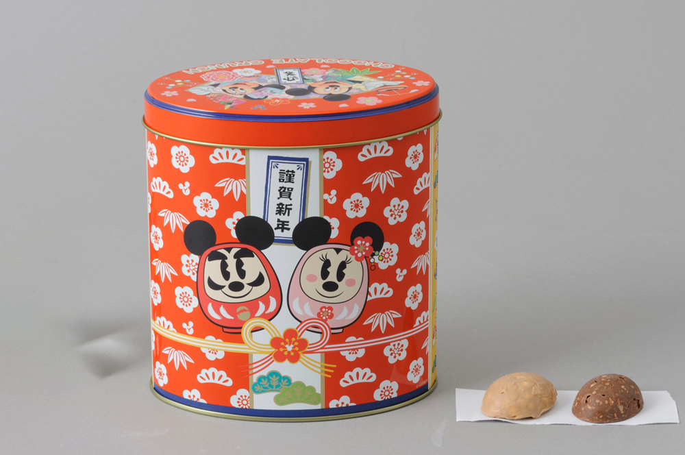 チョコレートクランチ(裏) 1200円 (c)Disney