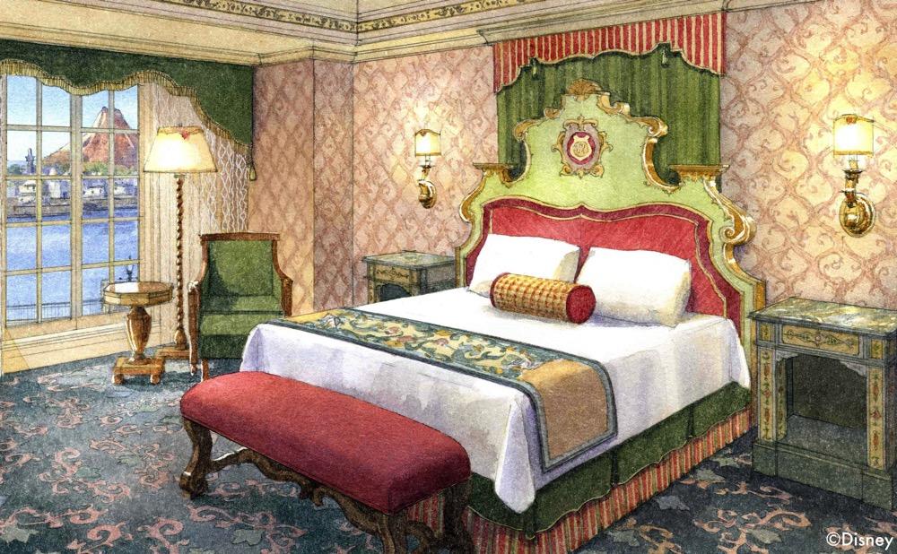 ポルト パラディーゾ サイド の客室イメージ (c)Disney