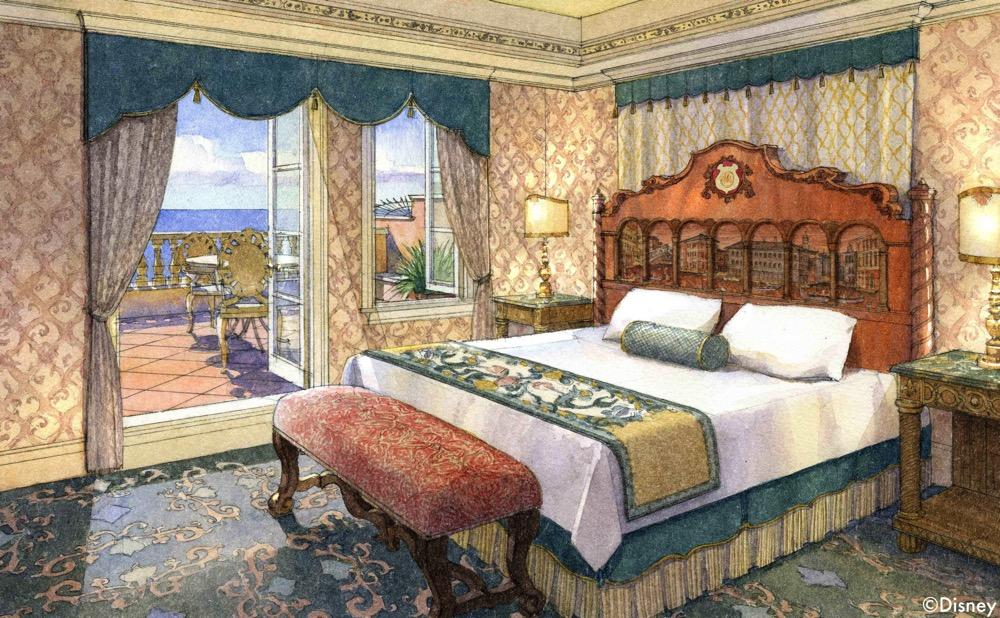 ヴェネツィア サイド の客室イメージ (c)Disney