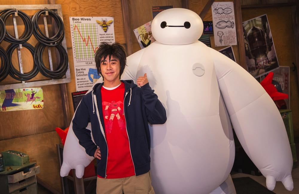 Hiro&Baymax (c)Disney