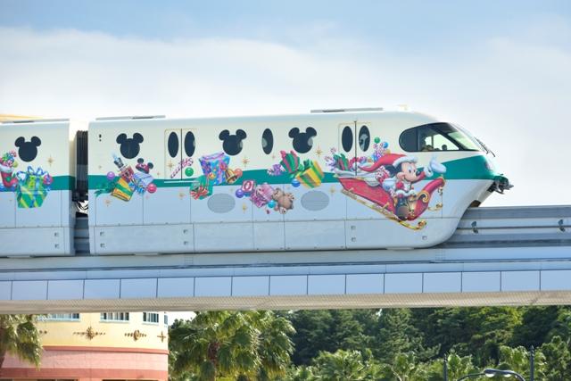 ディズニー クリスマス ライナー 車体 ミッキー (c)Disney