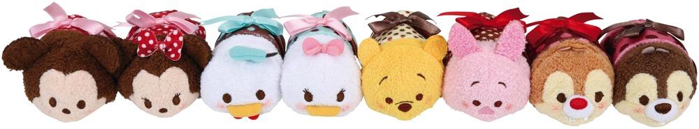 TSUM TSUM  S 各¥500  2015年1月26日より発売予定 (c)Disney