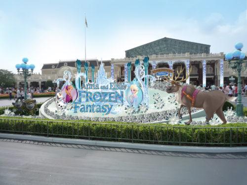 スペシャルイベント「アナとエルサのフローズンファンタジー」のウェブサイトがオープン♪(c)Disney
