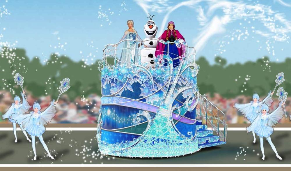 フローズンファンタジー グリーティング (c)Disney