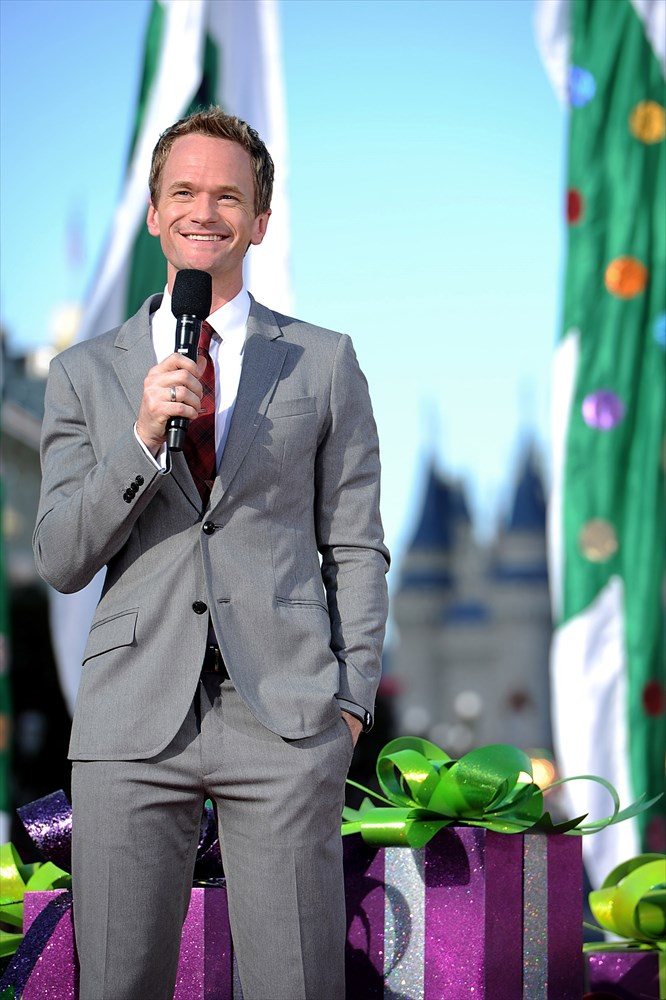 Neil Patrick Harris (pictured here in 2013 at the Walt Disney World Resort) will join Mickey Mouse to host an all-new presentation of the popular nighttime spectacular, 'World of Color' at Disney California Adventure park. 'World of Color-Celebrate!' will take guests on a journey to celebrate Walt Disney and his dream of Disneyland. This story will be brought to life by 1,200 fountains, animation and live-action film, lasers, special effects, and a stirring musical score. Celebrating 60 years of magic, 'World of Color- Celebrate!' is one of three new nighttime spectaculars which will immerse guests in the worlds of Disney stories like never before. The Diamond Celebration at the Disneyland Resort begins Friday, May 22, 2015. (Mark Ashman/Disneyland Resort) (c)Disney
