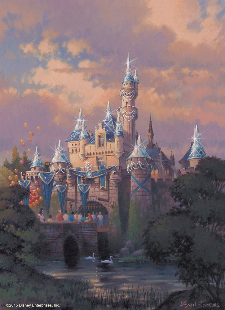 Sleeping Beauty Castle Decor/As to Disney photos, logos, properties: (c)Disney