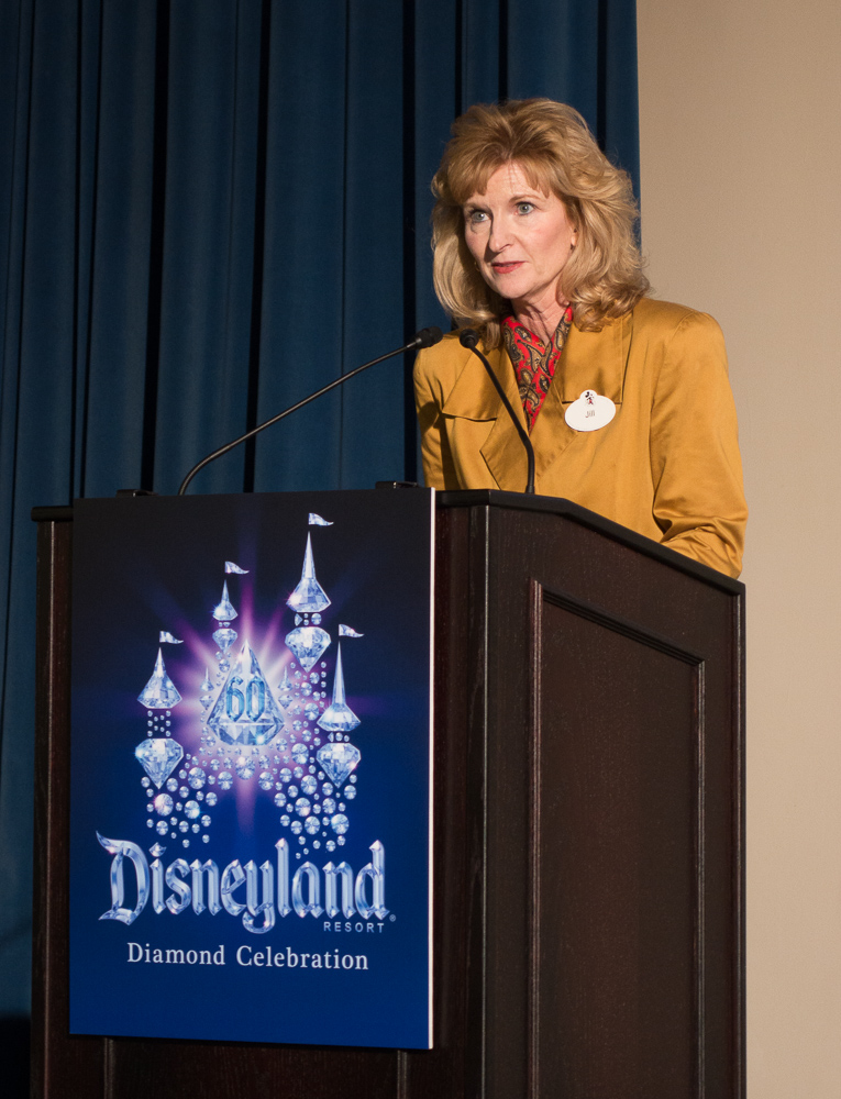 米ディズニー マーケティング&セールス シニア・バイスプレジデント ジル・エストリノ氏/As to Disney photos, logos, properties: (c)Disney