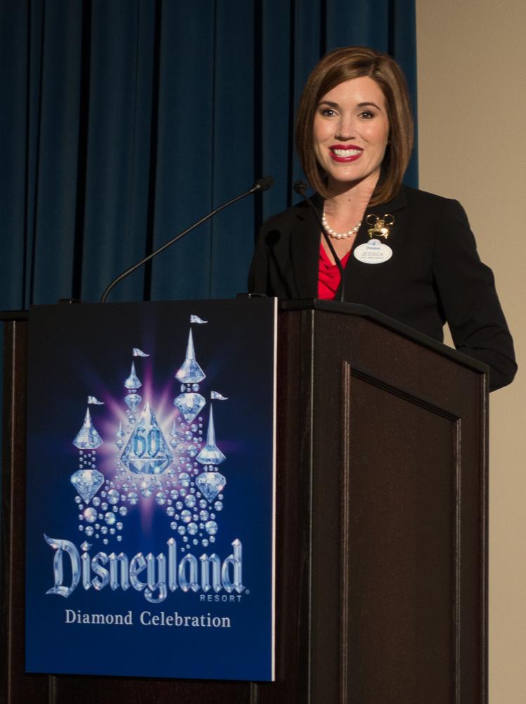2015−2016年ディズニーランド・リゾートアンバサダー ジェシカ・バーナード氏 /As to Disney photos, logos, properties: (c)Disney