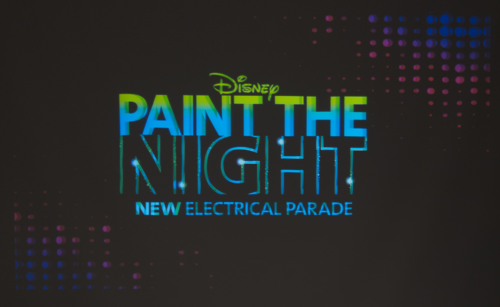 Paint the Night ロゴ /As to Disney photos, logos, properties: (c)Disney