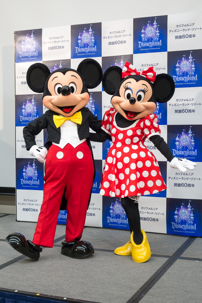ミッキー&ミニー/As to Disney photos, logos, properties: (c)Disney