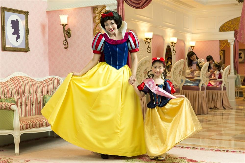 プリンセス・メイクオーバー・ランチ As to Disney photos,logos,properties:©Disney