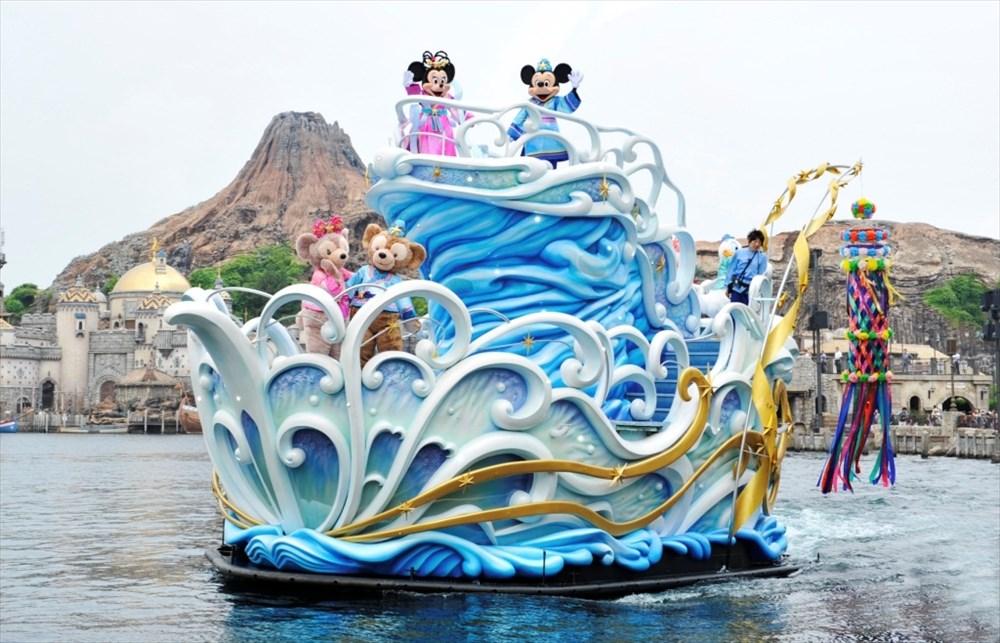 東京ディズニーシー「七夕グリーティング」 (c)Disney