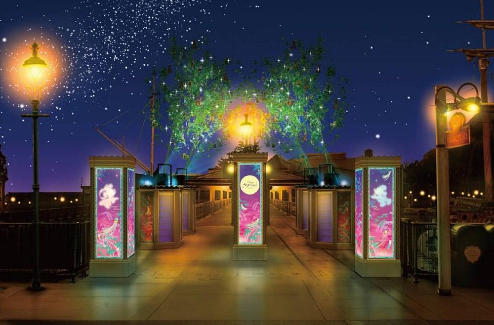 東京ディズニーシー デコレーション (c)Disney