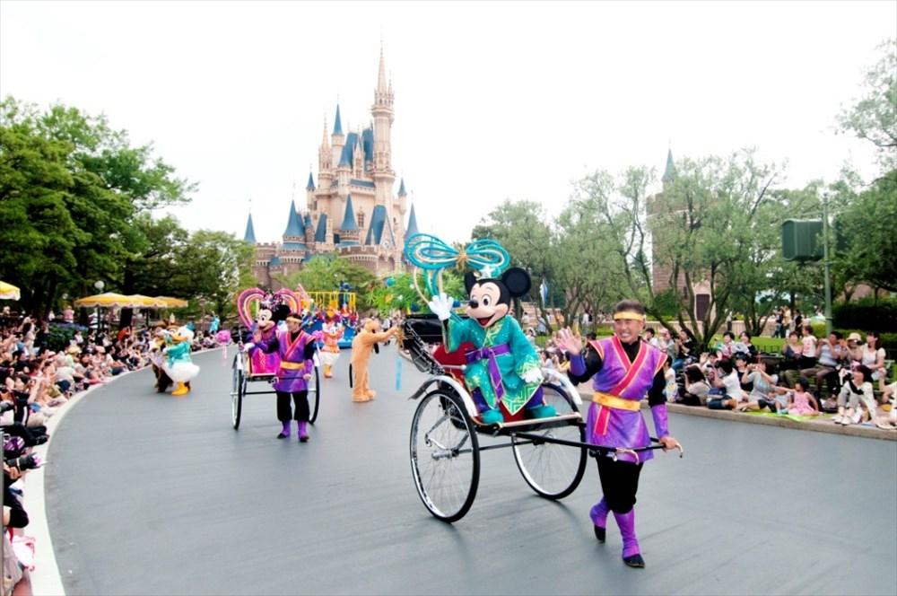 東京ディズニーランド「七夕グリーティング」 (c)Disney