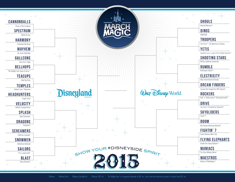 Show your Disney Side March Magic 2015 (c)Disney