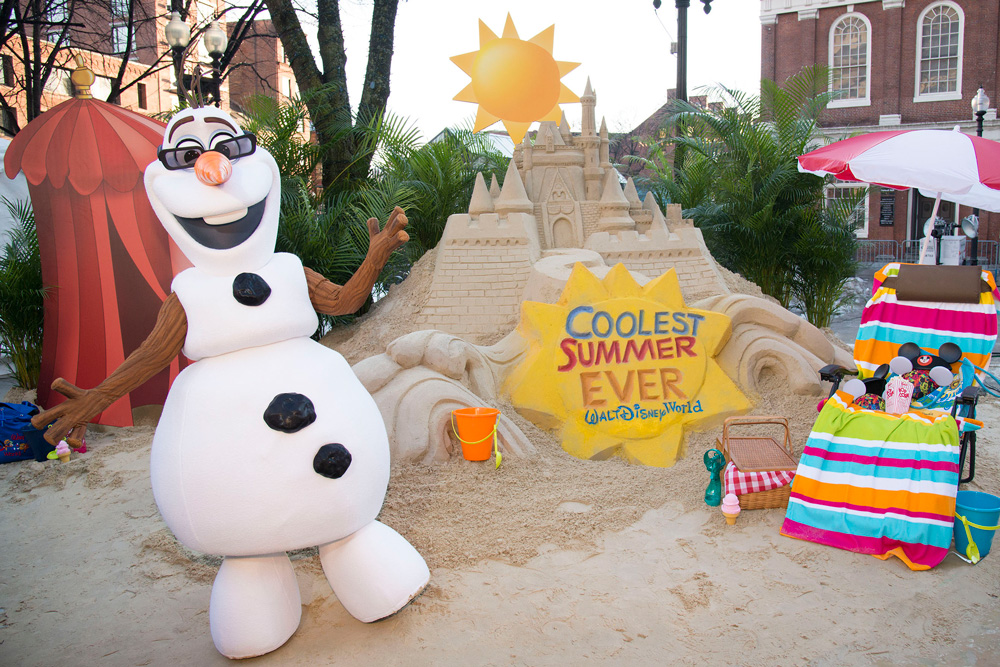 "Sand Castle in the Snow Announces 24-Hour Event to Kick Off ""Coolest Summer Ever"" at Walt Disney World Resort (c)Disney"
