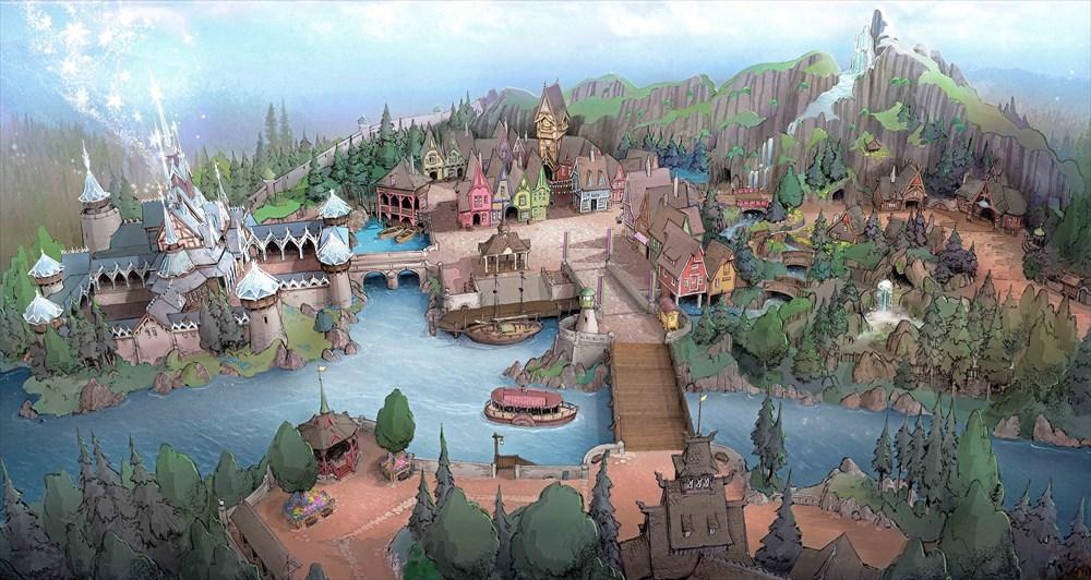東京ディズニーシー 「北欧」をテーマとした新テーマポート (c)Disney