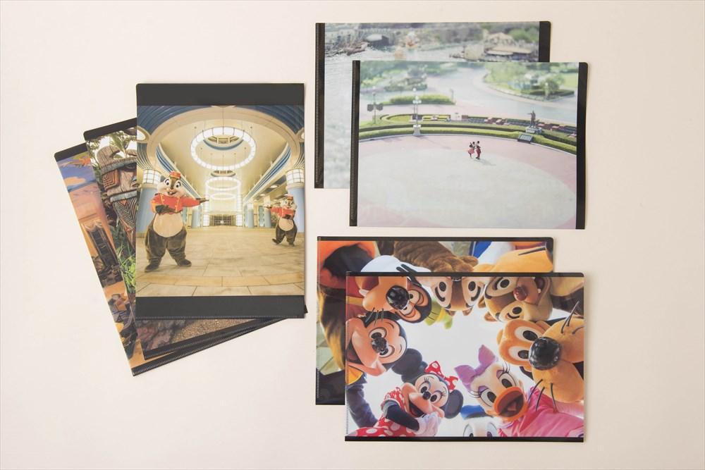 クリアファイル 各450円 (c)Disney