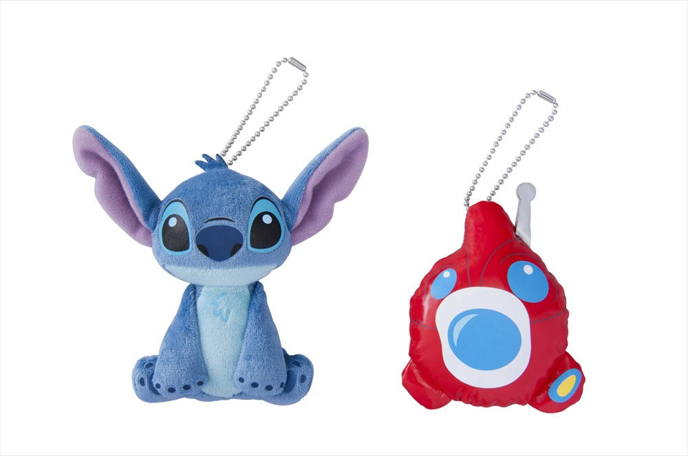 ぬいぐるみバッジセット 1500円 (c)Disney
